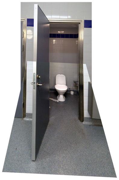 rastepladser med toilet
